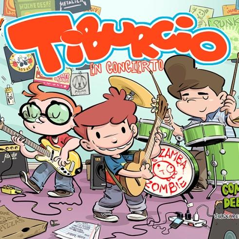 Tiburcio en Concierto (Comiks Debris - Colección Toing)